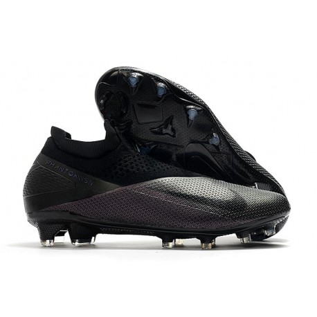 Nike Phantom VSN 2 Elite DF FG New Cleats -Kinetic Black