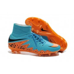 Nike Hypervenom 2 Phantom Men's Nike Football Cleats Blue Orange Black