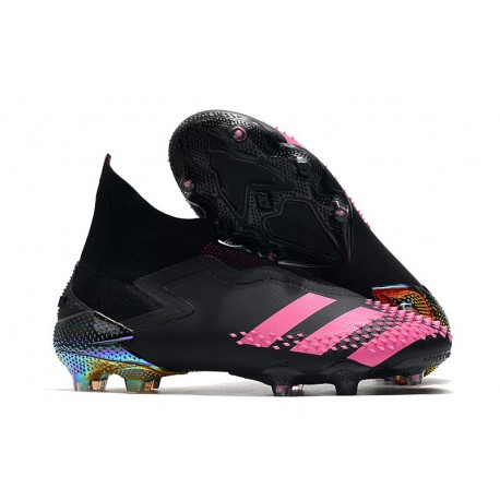 adidas Predator Mutator 20+ FG Dark Motion - Core Black Shock Pink
