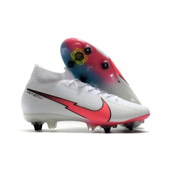 Top Nike Mercurial Superfly VII Elite SG AC White Crimson Blue