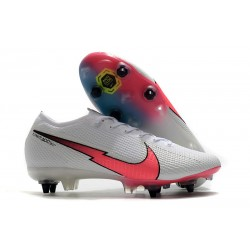 New Nike Mercurial Vapor XIII Elite SG White Red Black