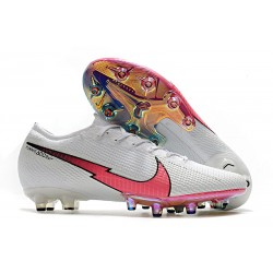 Nike Mercurial Vapor 13 Elite AG-Pro Cleats White Red Blue