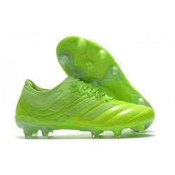 adidas Copa 20.1 FG Soccer Boots Signal Green White