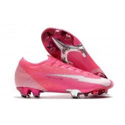 Nike 2020 Mercurial Vapor XIII Elite FG X Mbappe Pink Blast White Black