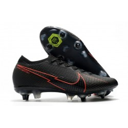 New Nike Mercurial Vapor XIII Elite SG Black Red