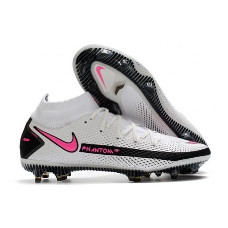 Nike Phantom GT Elite Dynamic Fit FG White Pink Black