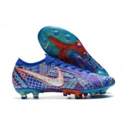 Nike Mercurial Vapor 13 Elite AG Sancho Racer Blue White Aurora Green