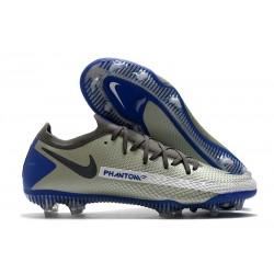 Nike Phantom Generative Texture GT Elite FG Grey Blue Black