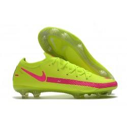 Nike Phantom Generative Texture GT Elite FG Brazil Volt Pink
