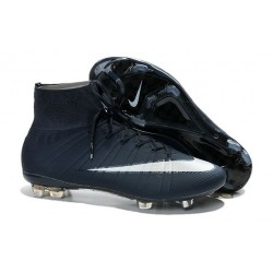 Nike Mercurial Superfly IV FG Soccer Cleats - Latest Shoes Cyan White