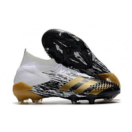 adidas Predator 20.1 FG Firm Ground Shoes White MetGold