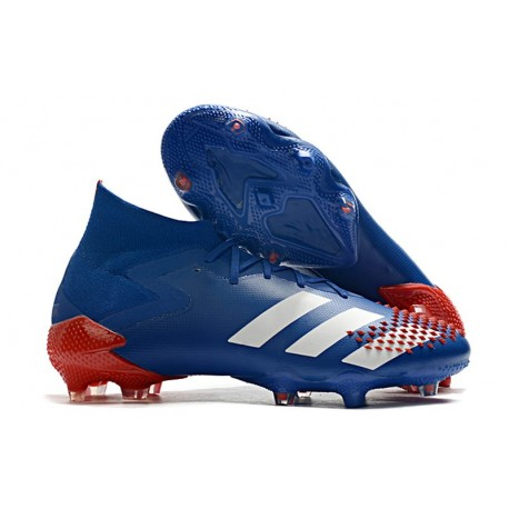 adidas Predator 20.1 FG Firm Ground Shoes Royal Blue White Active Red