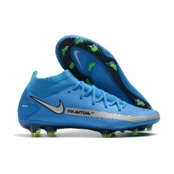 Nike Phantom GT Elite Dynamic Fit FG Blue Silver