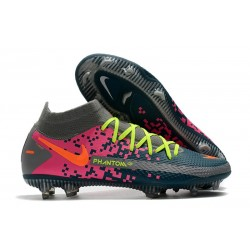 Nike Phantom GT Elite Dynamic Fit FG Navy Grey Pink