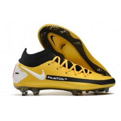 Nike Phantom GT Elite Dynamic Fit FG Yellow Black White