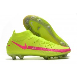 Nike Phantom GT Elite Dynamic Fit FG Green Pink