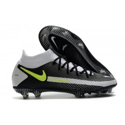 Nike Phantom GT Elite Dynamic Fit FG Black Grey Green