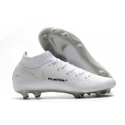 Nike Phantom GT Elite DF FG Firm Ground White