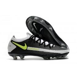 New 2021 Nike Phantom GT Elite FG Boots Black Grey