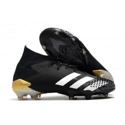 adidas Predator Mutator 20.1 FG Shoes Core Black White Gold Metallic