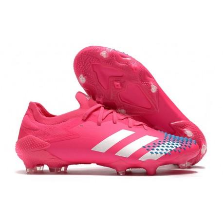 adidas News Predator Mutator 20.1 Low FG Pink White Blue