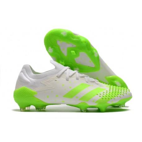adidas News Predator Mutator 20.1 Low FG White Green