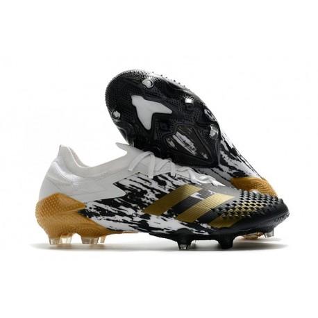 adidas New Predator Mutator 20.1 Low FG White Gold Metallic Core Black
