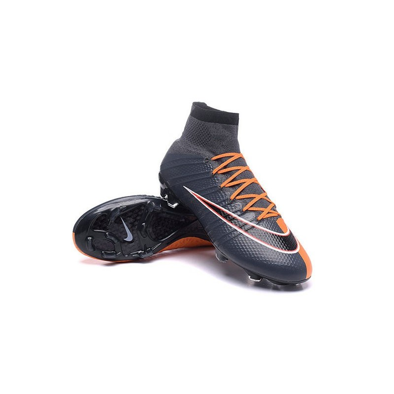 promo code 888a0 a60b9 Nike New Shoes Mercurial Superfly 4 FG Soccer Cleats Black ...