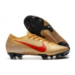 Nike 2021 Mercurial Vapor XIII Elite FG Golden Red