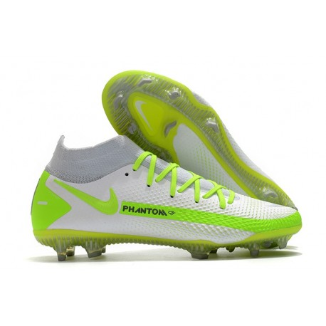 Nike Phantom GT Elite DF FG Firm Ground White Volt