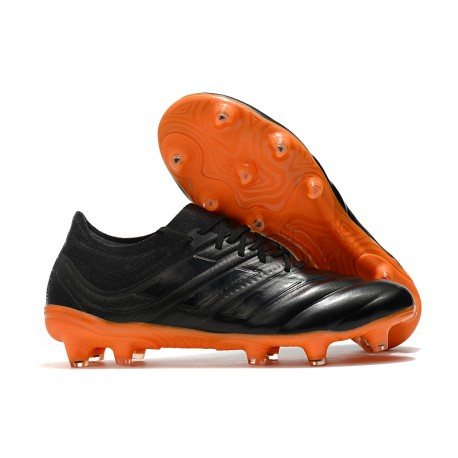 adidas Copa 19.1 FG Soccer Boots Core Black Orange