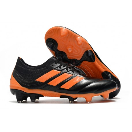 adidas Copa 19.1 FG Soccer Boots Orange Black