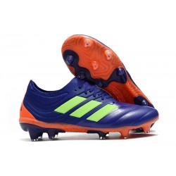 adidas Copa 19.1 FG Soccer Boots Purple Green