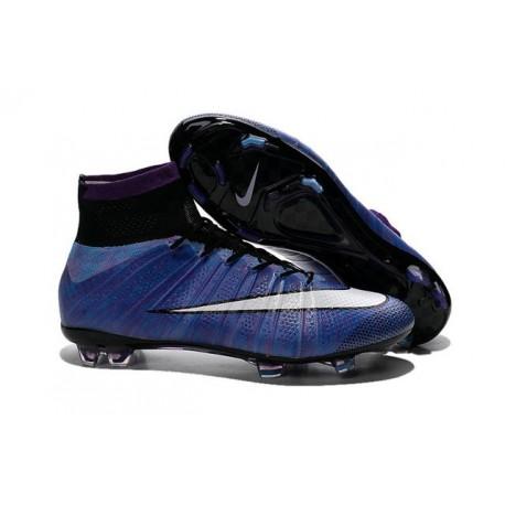 2016 Nike Mercurial Superfly IV FG Soccer Cleats Purple White Black