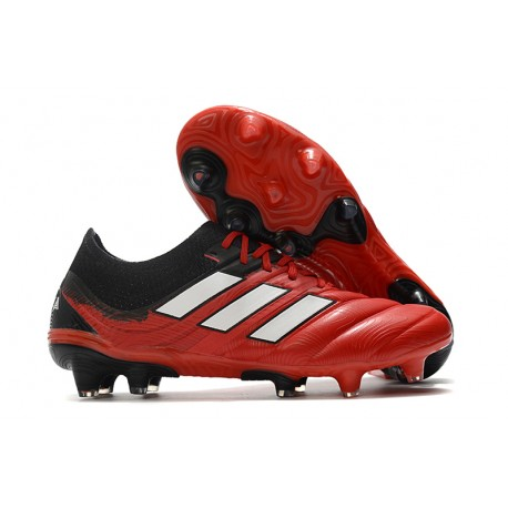 adidas Copa 20.1 FG Soccer Boots Active Red White Core Black