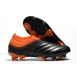 adidas Copa 20+ FG K-Leather Signal Coral Core Black Glory Red