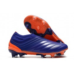 adidas Copa 20+ FG K-Leather Soccer Cleat Purple Green Orange