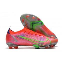 Nike Mercurial Vapor 14 Elite FG Boots Bright Crimson Metallic Silver