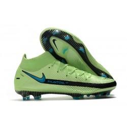 Nike Phantom GT Elite DF FG Firm Ground Green Black Blue
