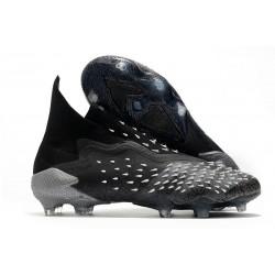 adidas Predator Freak + FG Shoes Core Black Grey Four White