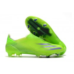 adidas X Ghosted + FG New Signal Green Energy Ink Semi Solar Slime