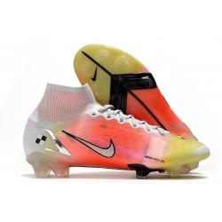 Nike Mercurial Superfly VIII Elite DF FG Dream Speed White Bright Mango