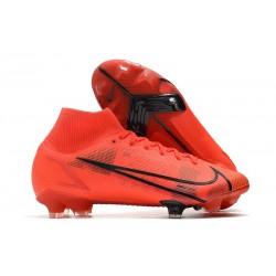 Nike Mercurial Superfly 8 Elite Cleats Red Black