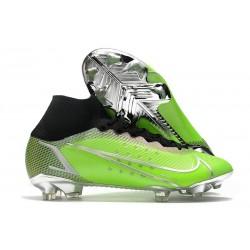 Nike Mercurial Superfly VIII Elite DF FG Green Silver