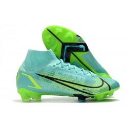 Nike Mercurial Superfly VIII Elite DF FG Dynamic Turq Lime Glow