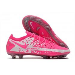 Nike Phantom GT Elite FG ACC Cleats Pink White