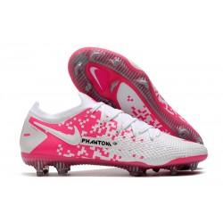 Nike Phantom GT Elite FG ACC Cleats White Pink