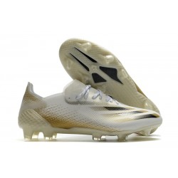 adidas X Ghosted .1 FG Boot White Gold