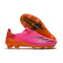 adidas X Ghosted .1 FG Boot Shock Pink Core Black Screaming Orange