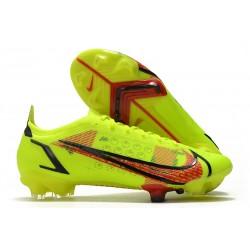 Nike Mercurial Vapor 14 Elite FG Boots Volt Bright Crimson Black